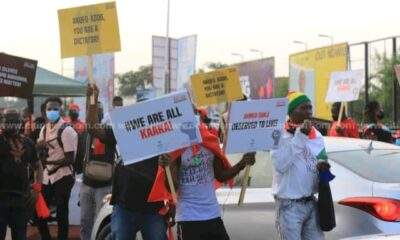 NDC's March For Justice Demo: President Akufo-Addo Is A Dictator, Ghanaian Are Tired - Protesters Cry Out