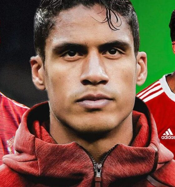 OFFICIAL: Raphael Varane Signs For Manchester United
