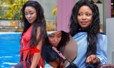'Village' Actress Joyce Boakye Videos Herself Using The Water Closet In A Plane