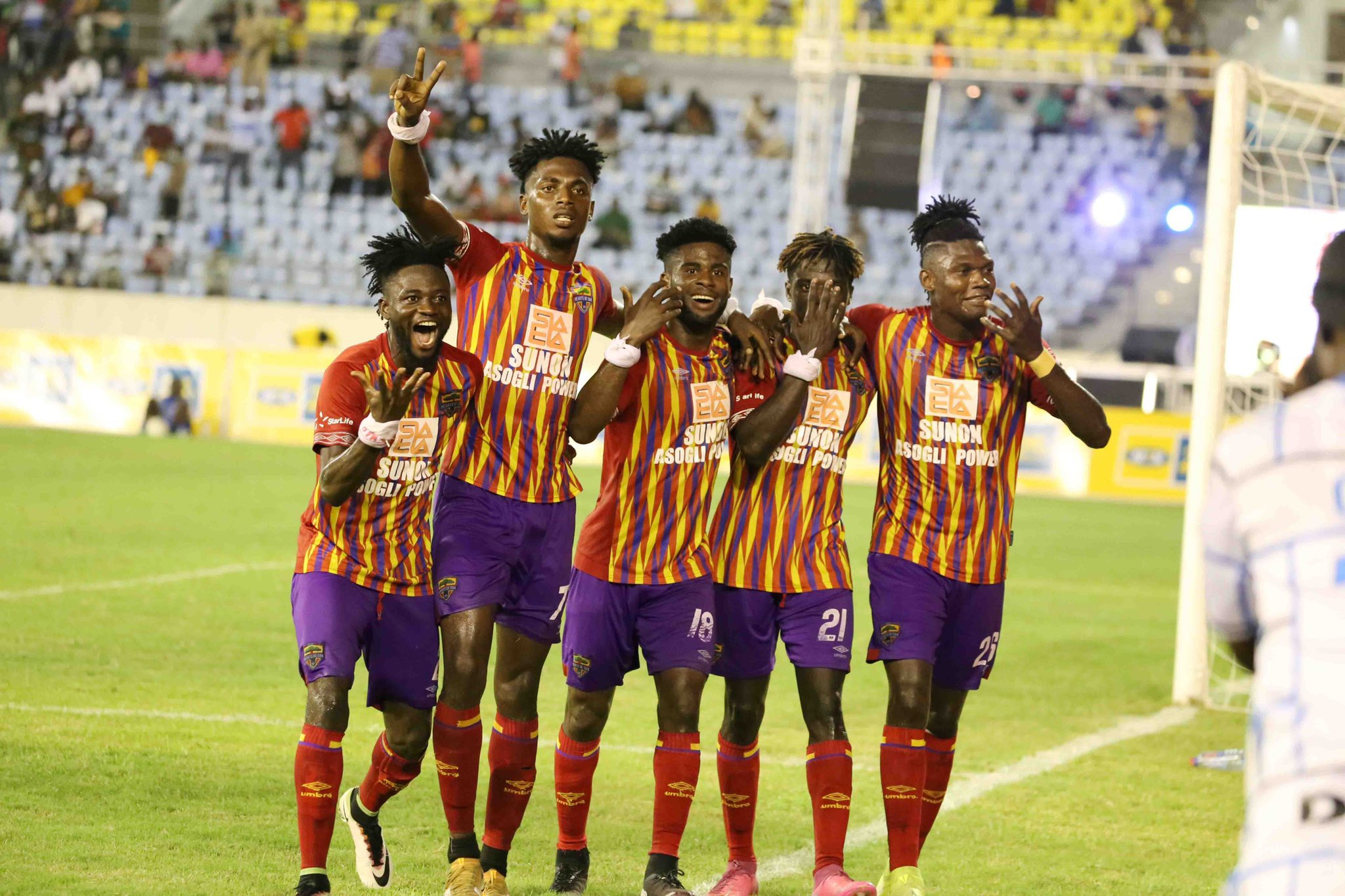 CAF CL: 2,000 Supporters To Watch Hearts of Oak Vs Wydad Clash