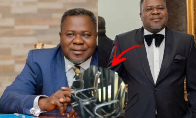 Kwaku Oteng's Broadcasting Company Burnt to Ashes In Video