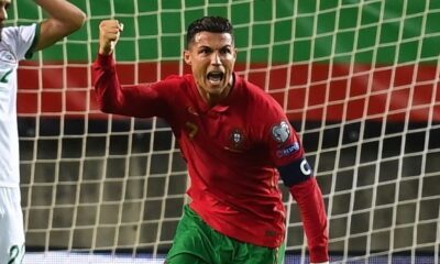 Ronaldo Enters 'Guinness Book Of World Records' With Latest Achievement