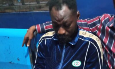 Ghana Police Arrest Funny Face For Threatening To Kill His Baby Mama (Photos)